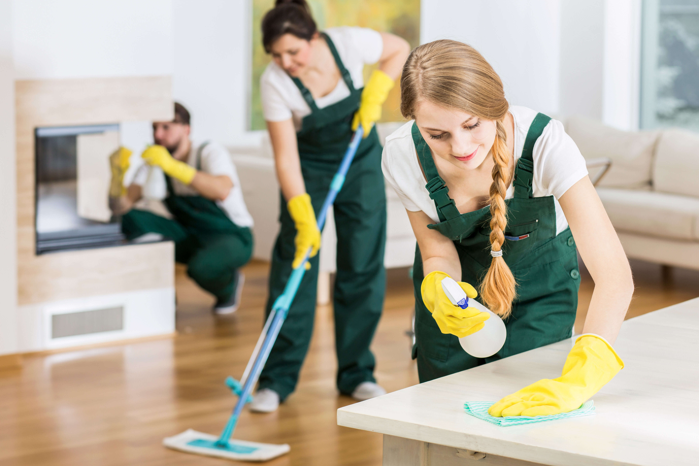 echipa servicii curatenie